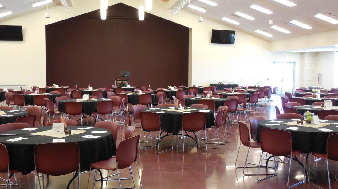 Auditorium with Tables